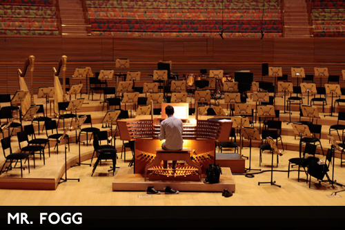 Mr Fogg - Walt Disney Concert Hall
