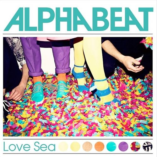 Alphabeat Love Sea single cover art